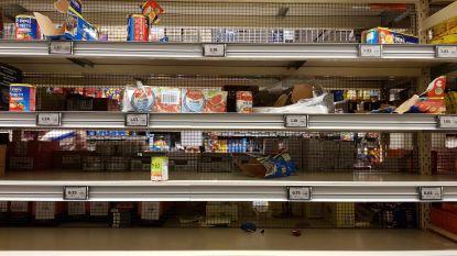 Transportbedrijven kunnen aanvoer goederen niet meer aan door hamstergedrag
