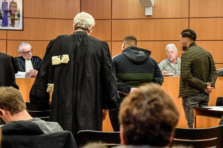 De beklaagde rechts zag zijn straf sterk verminderen.