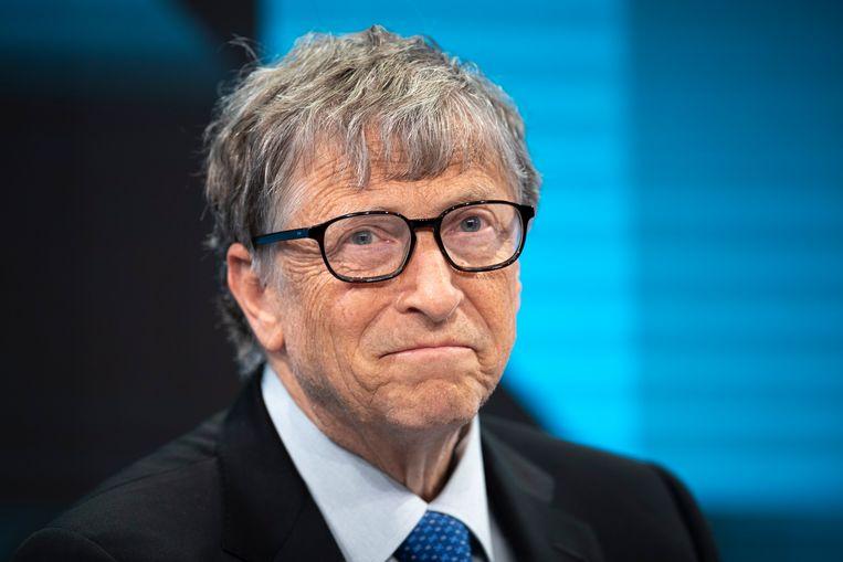 Bill Gates wil meer tijd besteden aan de Bill & Melinda Gates Foundation.  Beeld EPA