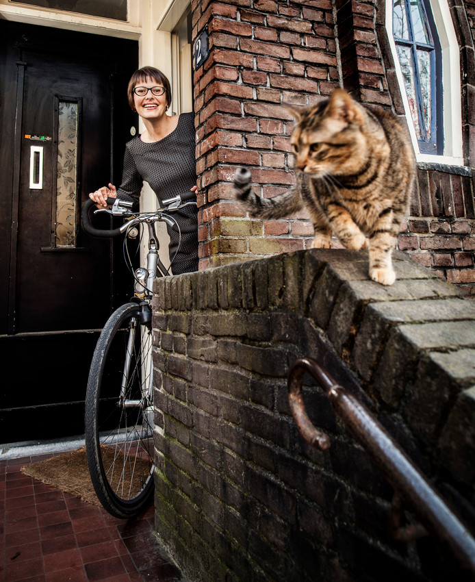 De fiets zal steeds aantrekkelijker worden, denkt Saskia Kluit.
