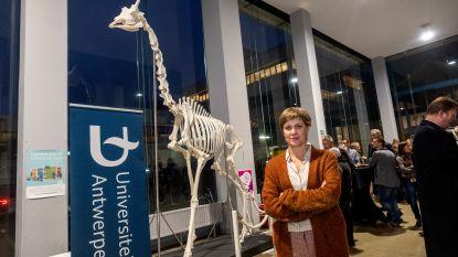 Giraf Dana gaat 15 maanden na haar dood studenten helpen