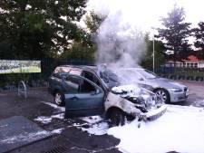 Auto brandt uit bij camping in Enspijk
