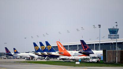 Afgelopen maand 40 procent minder vluchten op Brussels Airport door coronacrisis