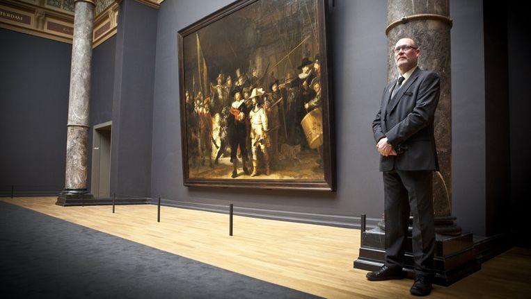 De Nachtwacht van Rembrandt. Beeld Floris Lok