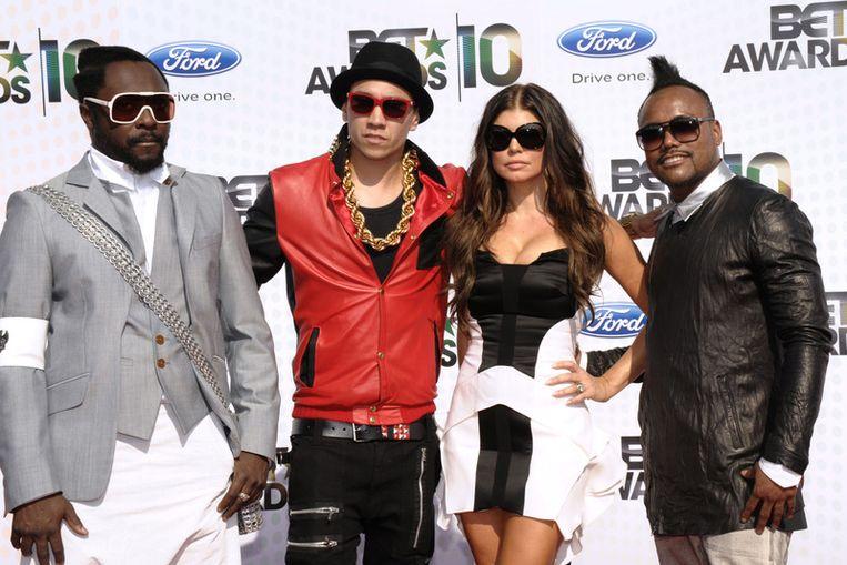 Will.i.am, Taboo, Fergie en apl.de.ap, samen Black Eyed Peas;