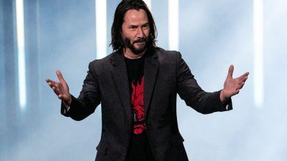 70.000 mensen willen van Keanu Reeves Time's 'Person of the Year' maken