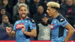 LIVE. Napoli heeft het ondanks goal Mertens knap lastig in Salzburg