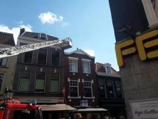 Brandweer rukt uit voor brand in centrum van Utrecht