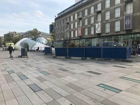 18 Septemberplein Eindhoven blijft geld kosten: opnieuw tegels kapot
