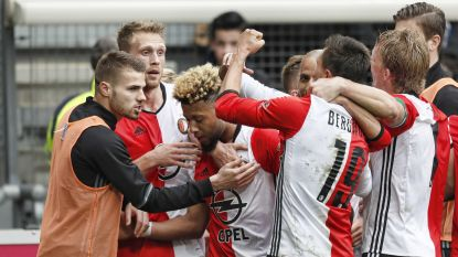 Feyenoord bibbert in Friesland, maar pakt voor kraker tegen Ajax wel drie gouden punten in titelstrijd