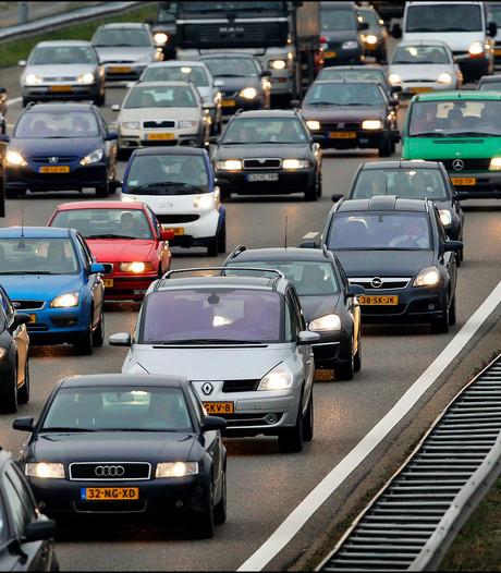 Flinke vertraging op A12 door ongeluk