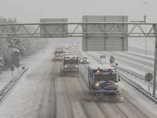 Winterpret en verkeershinder