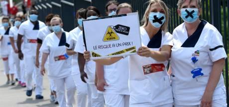 Des manifestations vont avoir lieu dans des hôpitaux de Charleroi, de Chimay et des CPAS