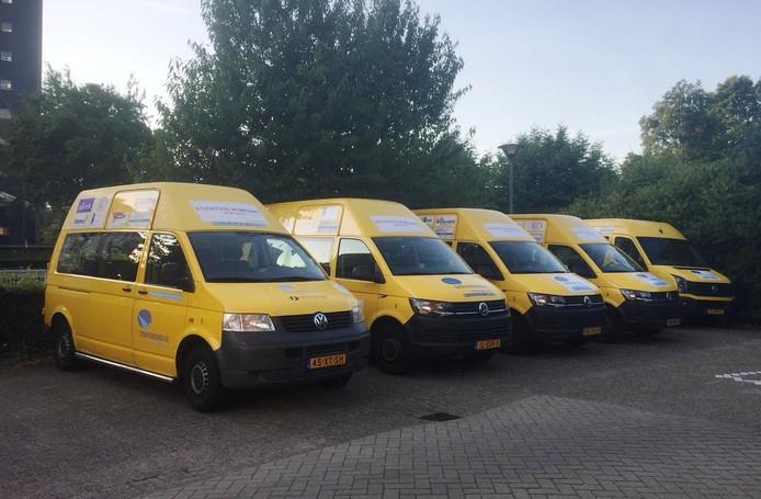 De seniorenbussen in Den Bosch.