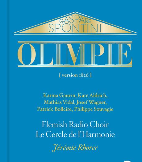 Koorliefhebbers zitten bij Spontini's 'Olimpie' eerste rang