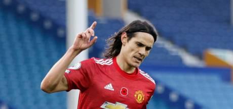 United renverse Everton, Cavani débloque son compteur