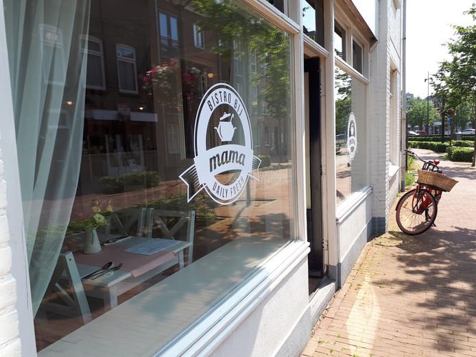 Bistro Bij Mama in de Klaphekkenstraat.