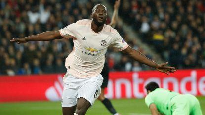 Weer sensatie op kampioenenbal: Lukaku maakt indruk met twee goals in Parijs en ziet hoe Rashford United naar kwartfinales knalt