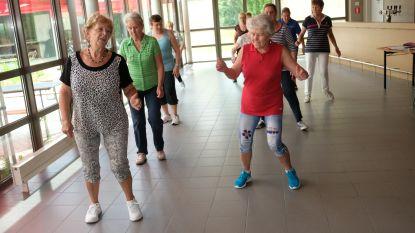 Linedancen op de seniorensportdag