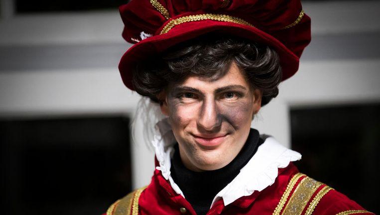 Zo zag de Amsterdamse Piet er in 2017 uit. Beeld anp
