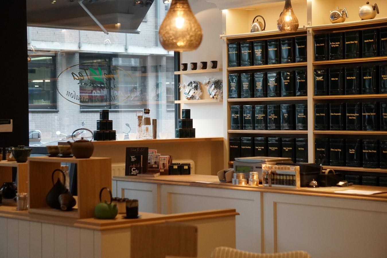 The Tea Collection heeft wel 150 soorten thee in de aanbieding