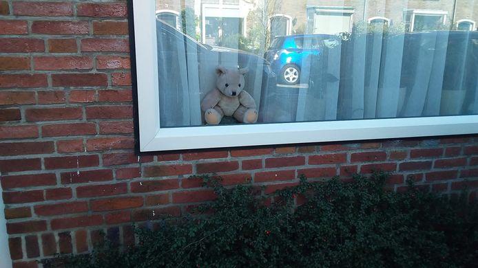 Eén van de vele beren die meedoen aan de berenjacht.