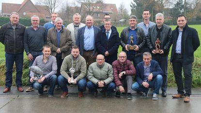 Bram De Smet gehuldigd als viskampioen van Groot-Zingem