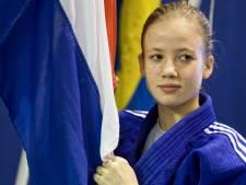 Amber Gersjes uit Tilburg buiten de prijzen op EK judo