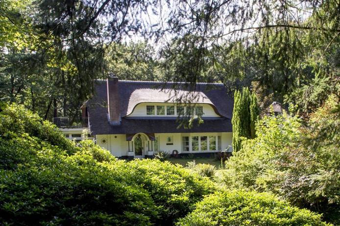 De villa Zonnewoud is uit de verhuur gehaald.