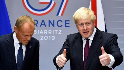 """Boris Johnson: """"Betalen EU niet nodig bij no deal"""""""