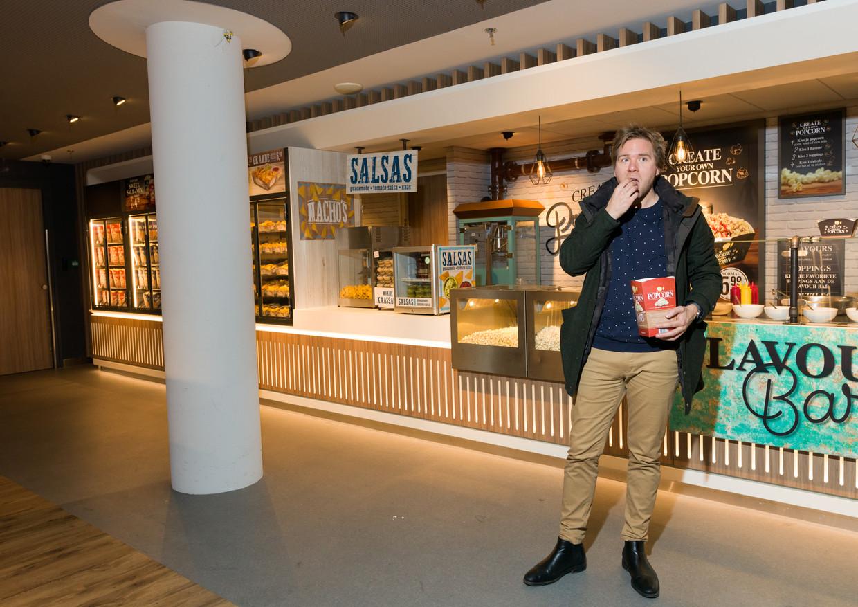 Sjoerd van Ramshorst is presentator en beeldredacteur bij NOS Studio Sport. Beeld Ivo van der Bent