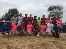 Beach Soccer Zeeland heeft twee keer kans op een kampioenschap