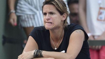 Zwangere Mauresmo traint Murray ook op Wimbledon
