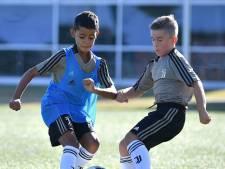 Zoon Cristiano Ronaldo (9) is direct een groot succes op Instagram