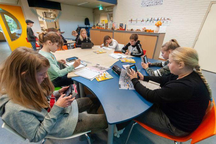 Basisschool De Almgaard in Almkerk (archieffoto).