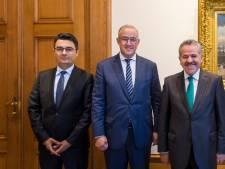 Aboutaleb ontmoet nieuwe Turkse consul