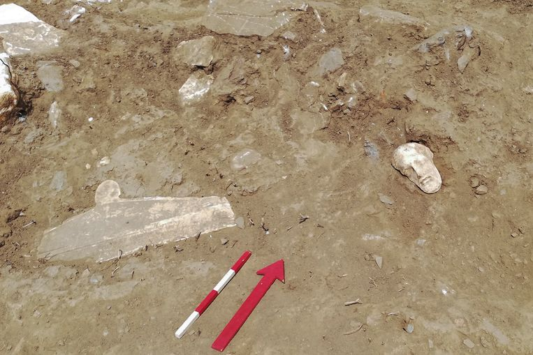 Opgravingen op het Griekse eiland Tinos.