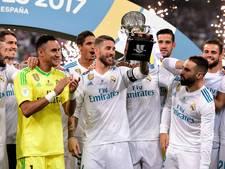 Real is Barça ook de baas in tweede Clásico en pakt de Supercup