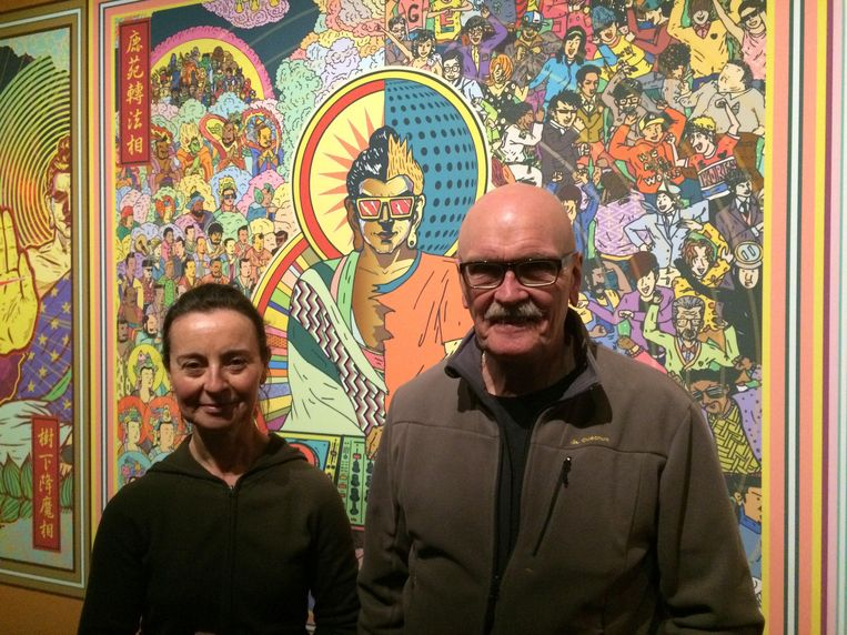 Linda Grantcharoff en Rob Peleman. Beeld null