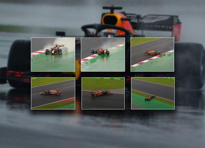 Max Verstappen beleefde een teleurstellende race in Istanboel.