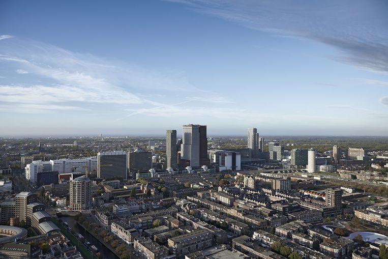 Uitzicht op Den Haag. Beeld anp