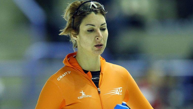 Margot Boer stelde als alle Nederlandse schaatsters teleur. Beeld Pro Shots