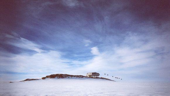 De Prinses Elisabeth-basis op Antarctica
