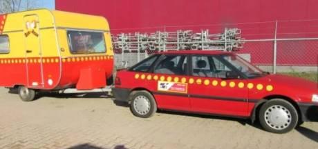 'Geveilde Bassie en Adriaan-auto is nep'