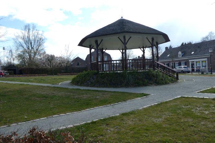 De kiosk en het Concordiapark werden helemaal opgeknapt en aangepast voor evenementen.