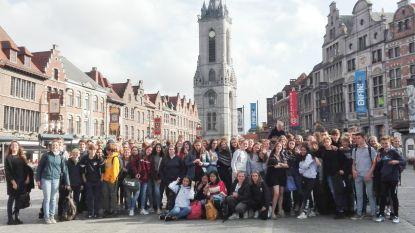 Derdejaars van Bernarduscollege Oudenaarde ondergedompeld in Franstalig taalbad