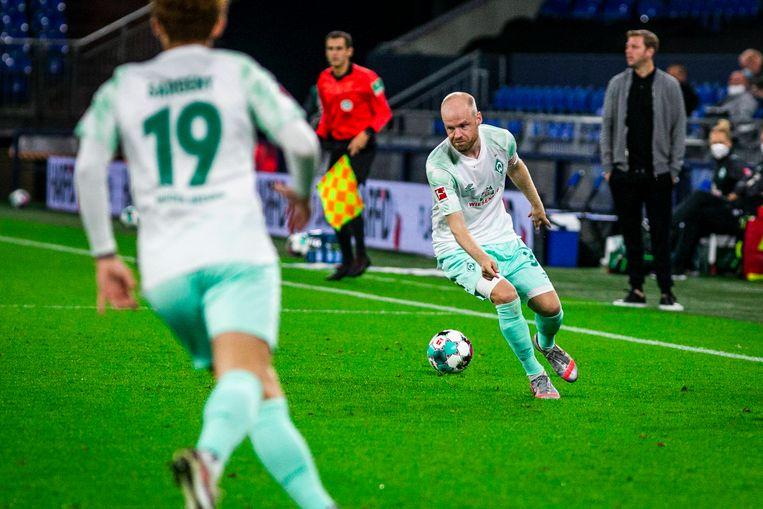 Davy Klaassen in dienst van Werder Bremen Beeld BSR Agency