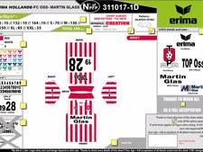Hoofdsponsor deelt TOP Oss-shirts uit aan fans om naamswijziging te vieren