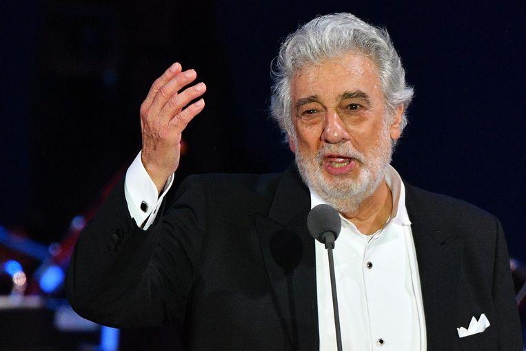 Plácido Domingo. Beeld AFP