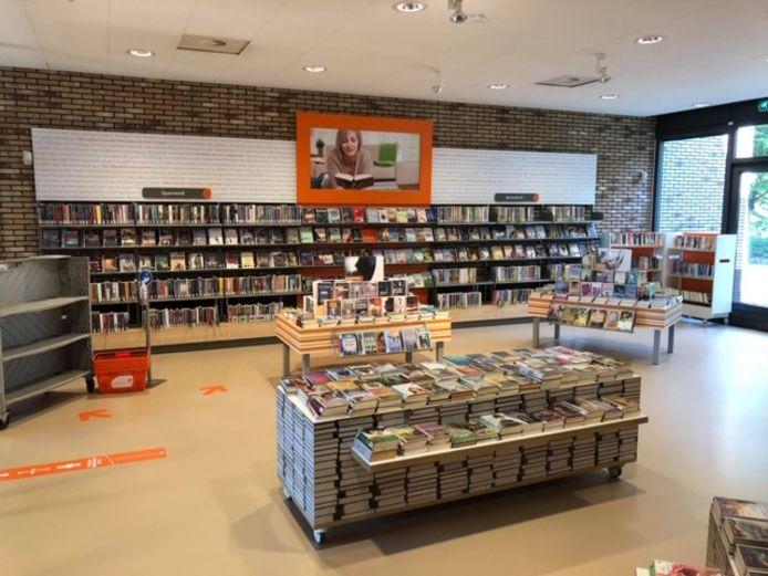 De bezuiniging op cultuur is beperkt, zodat de bibliotheek in IJsselmuiden open kan blijven.
